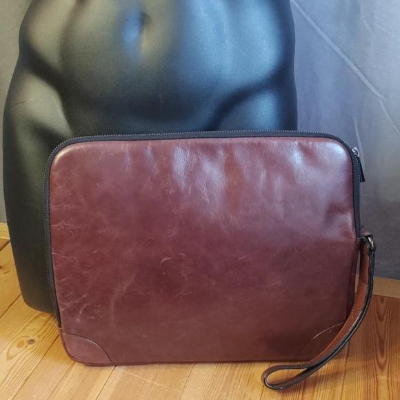 Zara Other - Zars Man Leather Envelope Clutch